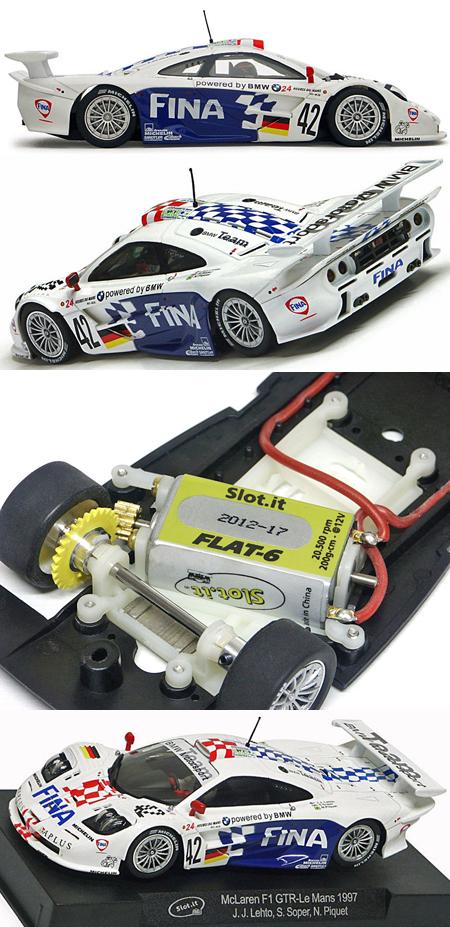 Slot It SICA10F McLaren F1 GTR, Fina #42