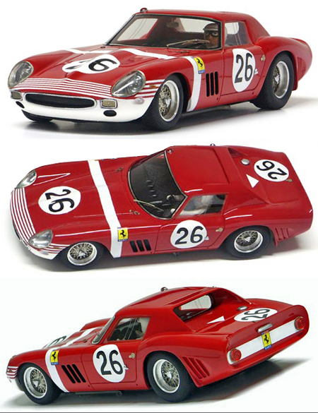 Racer SL12B Ferrari 250 GTO, Reims 12 hr. 1964 #26