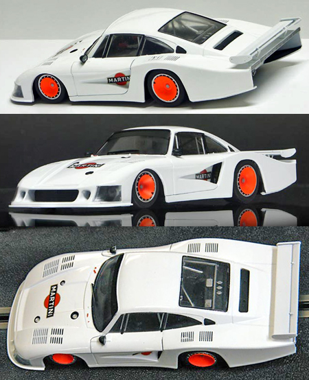 "Racer SW19 Porsche 935-78 ""Moby Dick"", white with Martini logos"
