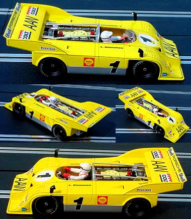 Fly A166 Porsche 917-10 Leo Kinnunen Interserie Champion 1972