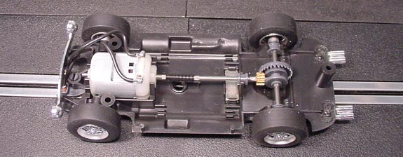Front motor chassis