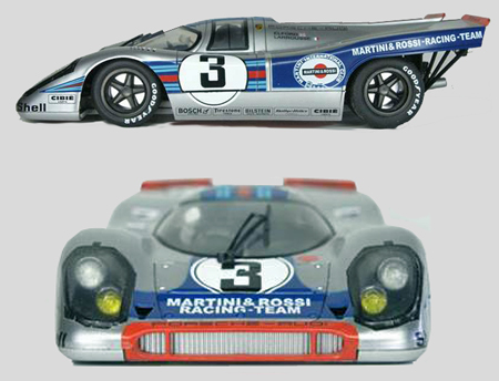 BRM 025 Porsche 917 , Martini, 1/24 scale