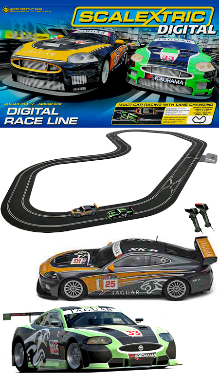 Scalextric C1275T Digital Race Line race set