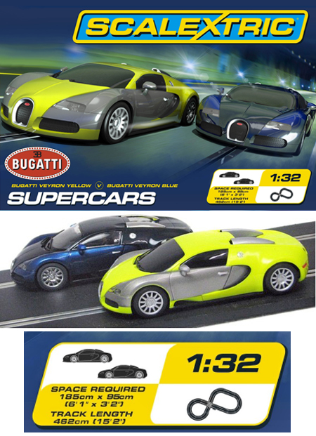 Scalextric C1297T Supercars race set
