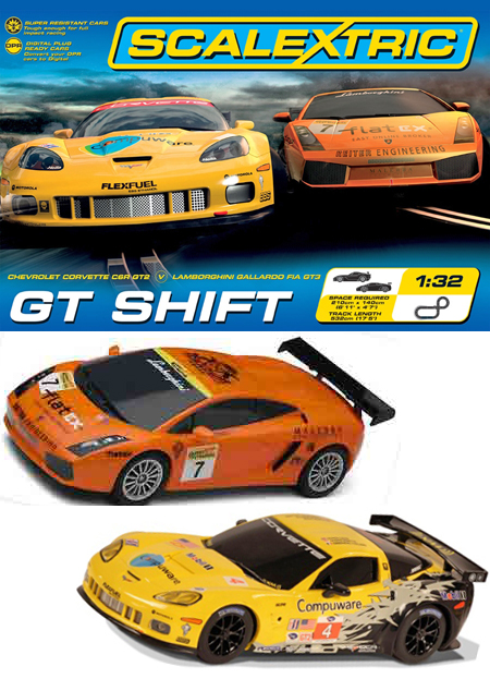 Scalextric C1298T GT Shift race set