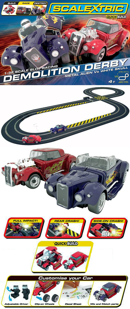 Scalextric C1301T Demolition Derby race set