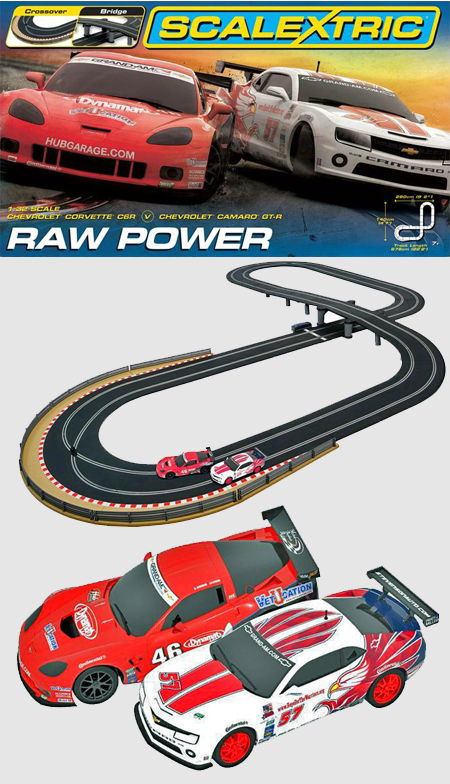 Scalextric C1308T Raw Power race set