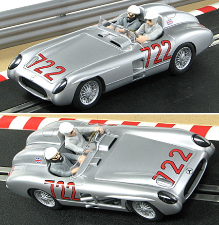 Scalextric C2783K Mercedes 300SLR, Mille Miglia winner, 1955