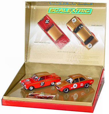 Scalextric C2981A Alan Mann Racing 2-car set