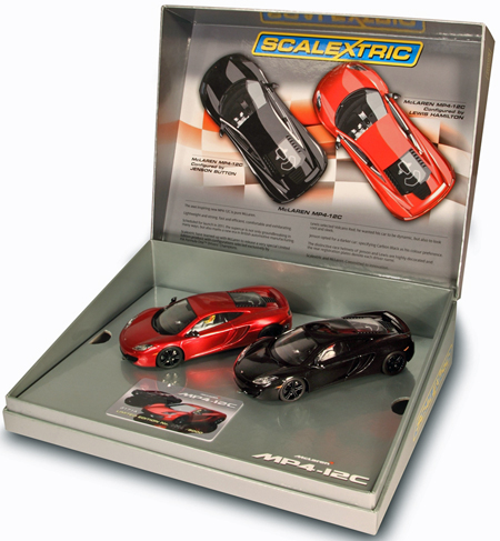 Scalextric C3171A McLaren MP4-12C 2-car set