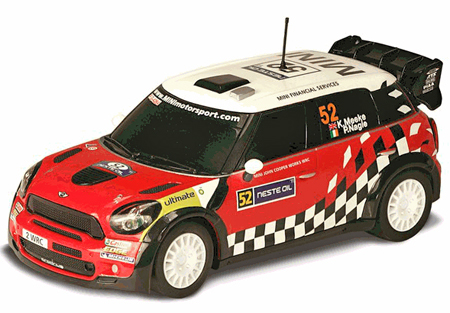 Scalextric C3285 BMW Mini Rally D'Italia 2011