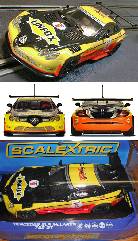 Scalextric C3294 Mercedes SLR GT, Linfox