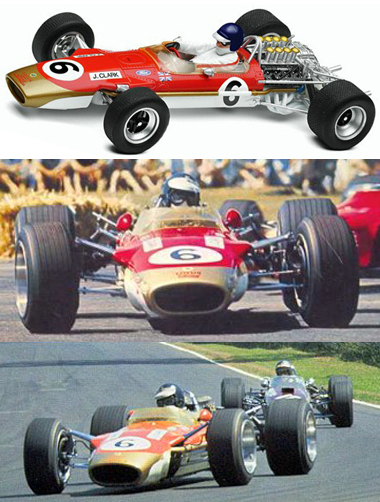 Scalextric C3311 Lotus 49, J. Clark, Tasman 1968