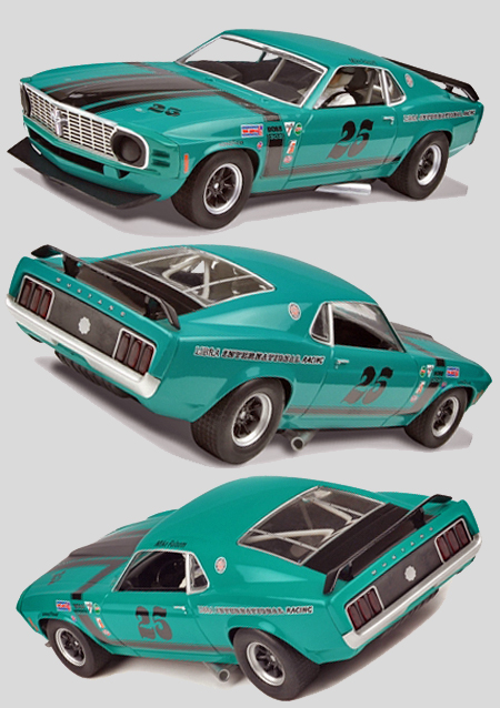 Scalextric C3318 1969 Mustang, Mike Folsom