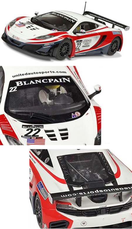 Scalextric C3389 McLaren MP4-12C, United Autosports
