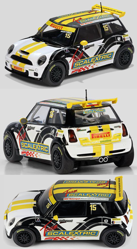 Scalextric C3400 BMW Mini Cooper S, Team Scalextric