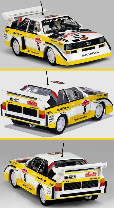 Scalextric C3410 Audi Sport Quattro 1985