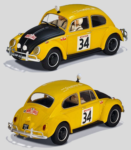 Scalextric C3412 Volkswagen Beetle, Historic Rally Series.