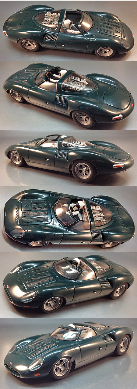 Proto Slot CB070/1P Jaguar XJ13, green, painted body kit