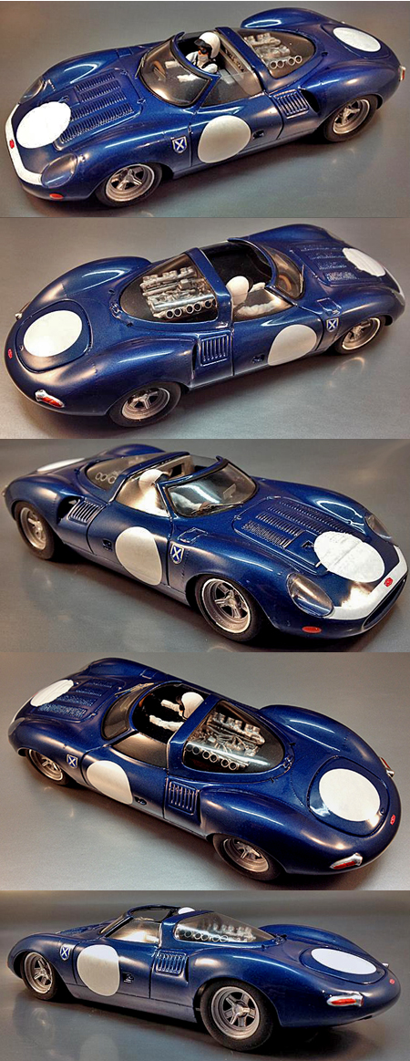 Proto Slot CB070/2P Jaguar XJ13, Edurie Ecosse, painted body kit