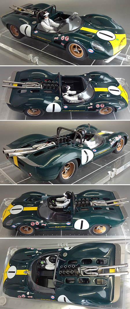 Proto Slot CB072P Lotus 40, Jim Clark, Riverside 1965 painted body kit