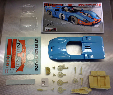 Proto Slot CB082P Mirage M3-Cosworth, Watkins Glen 1969, painted body kit
