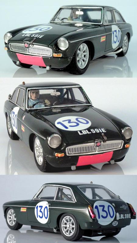 Slot Classic CJ42 MGB GT, Targa Florio 1968