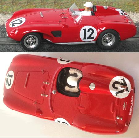 MMK F625LM-12 Ferrari 625LM LeMans 1956, #12