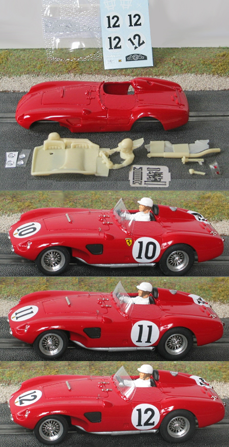 MMK F625LM-PK Ferrari 625LM LeMans 1956 painted body kit