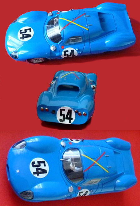 GMC15 Costin Nathan, blue #54, RTR