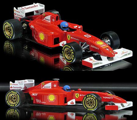 Allslotcar by Ostorero GPF01 Ferrari F1 RTR car