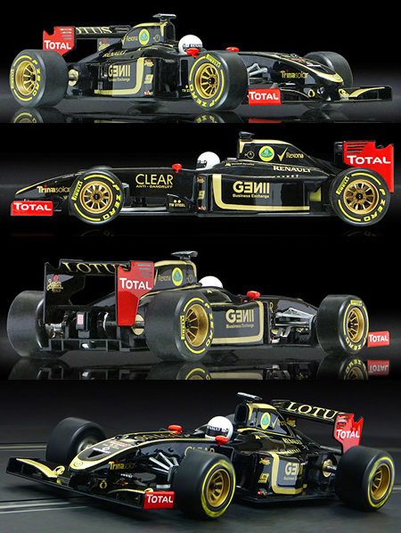 Allslotcar by Ostorero GPF02 Lotus F1 RTR car