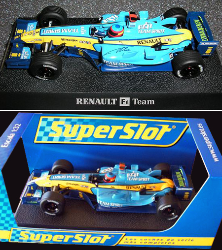 Scalextric H2649A Renault R25 F1 Limited edition (C)