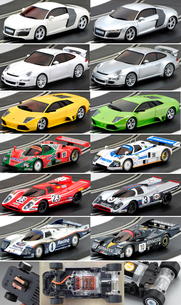 Kyosho 1/43 product line