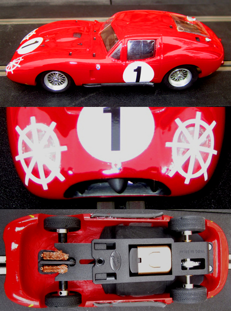 MMK 49A Costin Maserati 450S coupe with headlight detail