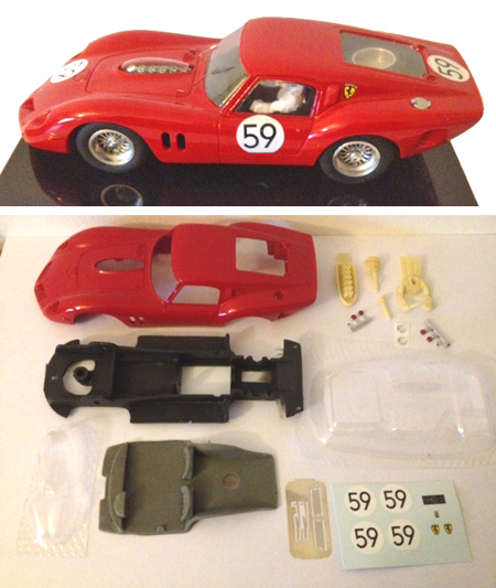 MMK 51PK Ferrari 250 Drogo, LeMans 1963, painted body kit