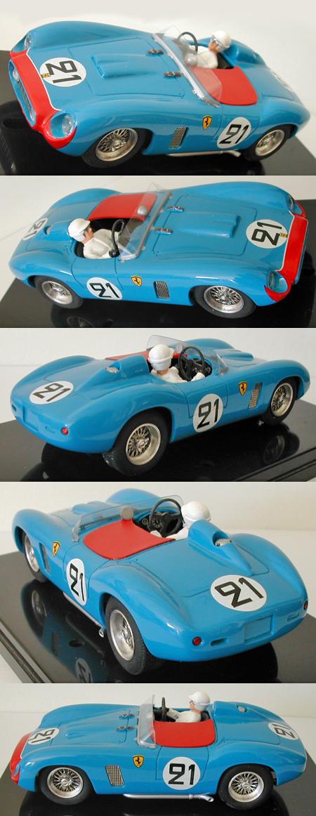 MMK 53-21 Ferrari TR500, #21 blue, LeMans 1956