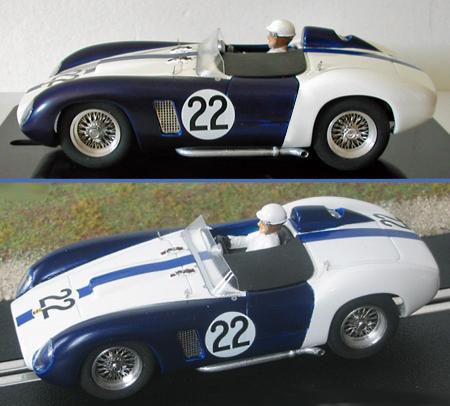 MMK 53-22 Ferrari TR500, #22 blue/white, LeMans 1956