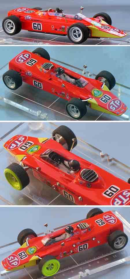 Proto slot MN004/1-60 Lotus 56 STP, Indy 500, RTR