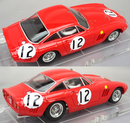 PSK 007-1 Ferrari 330LMB, LeMans 1963, race #12