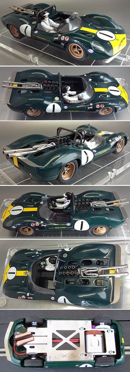PSK 012 Lotus 40, Jim Clark, Riverside 1965 - $249.99