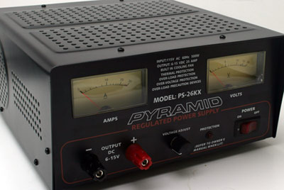 Pyramid power supply