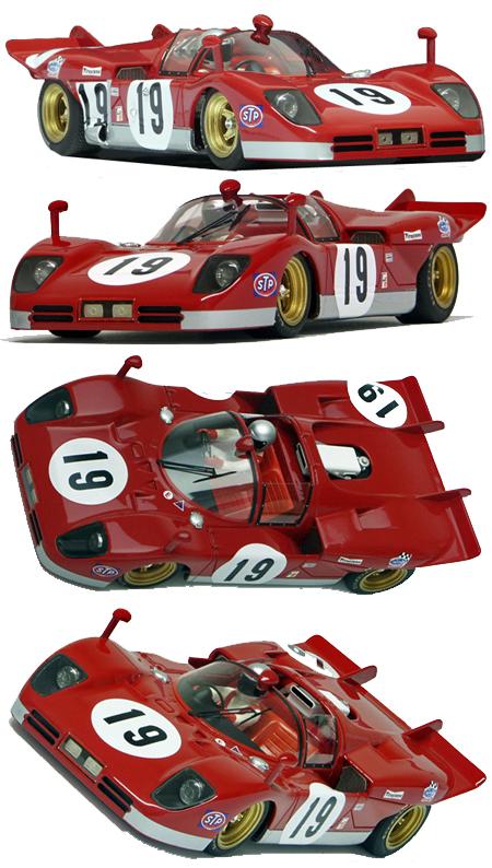 Racer RCR63A Ferrari 512S, Sebring 1970, #19