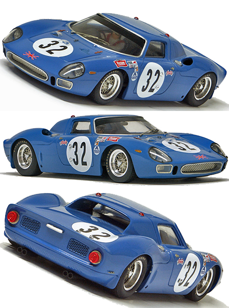 Racer RCR64 Ferrari 250LM, Daytona 24 Hours 1967. Preorder now!