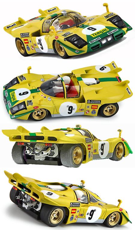 Racer RCR66 Ferrari 512S, Escuderia Montjuich - Le Mans 24hrs 1970