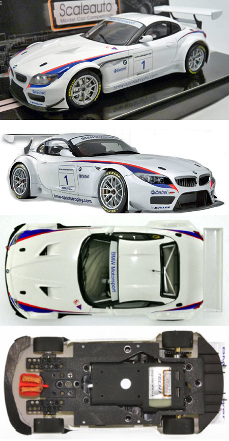 Scale Auto SC6017 BMW Z4 GT3 presentation car