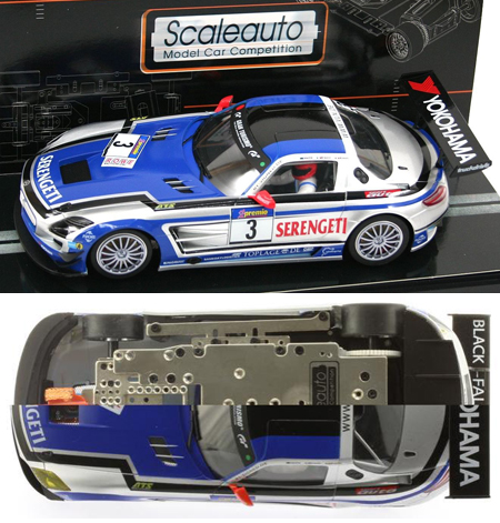 Scale Auto SC7027 Mercedes SLS GT3 #3, 1/24 scale