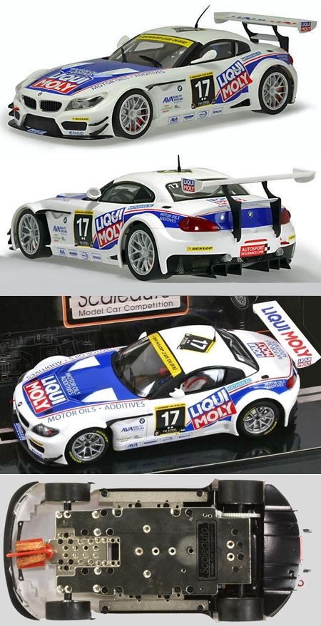 Scale Auto SC7034 BMW Z4 GT3, #17 Team Engster, 1/24 scale