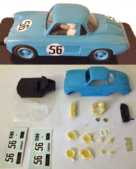 MMK SF13PK Renault 4CV, LeMans 1953, painted body kit