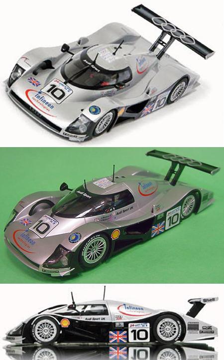 Slot It SICA12C Audi R8C #10 Le Mans 1999